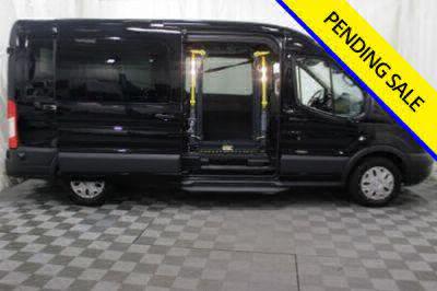 Commercial Wheelchair Vans for Sale - 2017 Ford Transit Passenger 350 XLT ADA Compliant Vehicle VIN: 1FBAX2CM4HKB13836