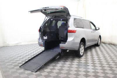 Commercial Wheelchair Vans for Sale - 2015 Toyota Sienna LE ADA Compliant Vehicle VIN: 5TDKK3DC2FS585808