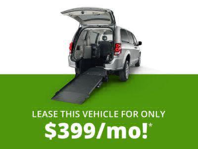 Commercial Wheelchair Vans for Sale - 2018 Dodge Grand Caravan SXT ADA Compliant Vehicle VIN: 2C4RDGCG4JR268361