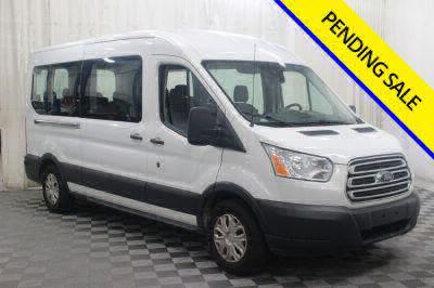 Commercial Wheelchair Vans for Sale - 2017 Ford Transit Passenger 350 XLT ADA Compliant Vehicle VIN: 1FBAX2CM4HKB13805