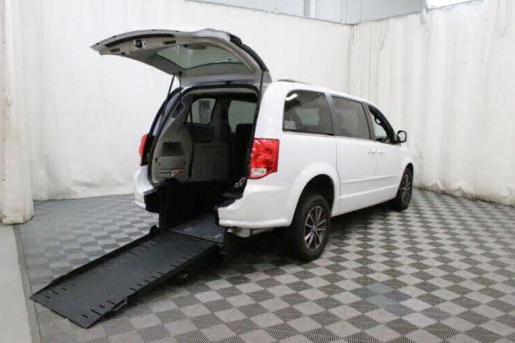 2017 Dodge Grand Caravan SXT Wheelchair Van For Sale #1