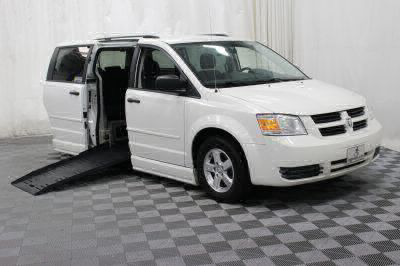 Handicap Van for Sale - 2008 Dodge Grand Caravan SE Wheelchair Accessible Van VIN: 1D8HN44H18B126011