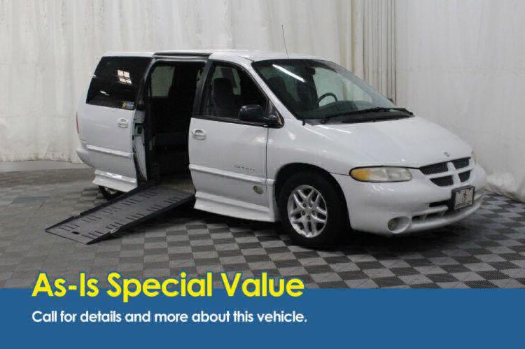 2000 Dodge Grand Caravan SE Wheelchair Van For Sale #1