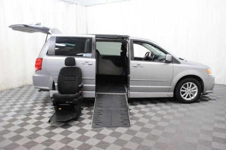 2015 Dodge Grand Caravan SXT Wheelchair Van For Sale #16