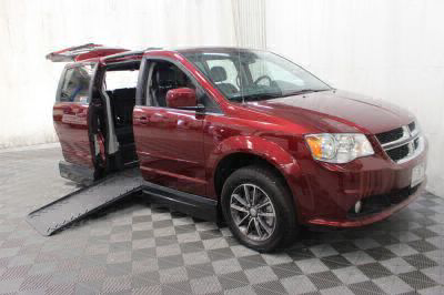 Handicap Van for Sale - 2017 Dodge Grand Caravan SXT Wheelchair Accessible Van VIN: 2C4RDGCG8HR800589