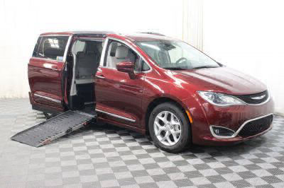 Handicap Van for Sale - 2017 Chrysler Pacifica Touring-L Plus Wheelchair Accessible Van VIN: 2C4RC1EG7HR756839