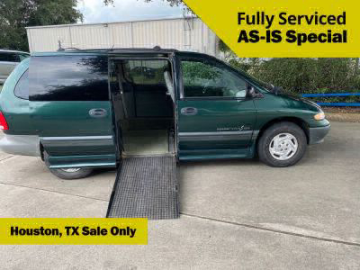 Used Wheelchair Van for Sale - 1997 Dodge Grand Caravan SE Wheelchair Accessible Van VIN: 1B4GP44R8VB429261