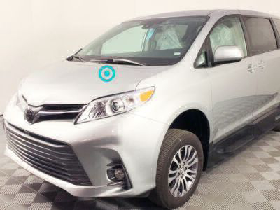 Handicap Van for Sale - 2019 Toyota Sienna XLE Wheelchair Accessible Van VIN: 5TDYZ3DC9KS005258