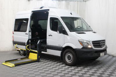 Commercial Wheelchair Vans for Sale - 2016 Mercedes-Benz Sprinter 2500 144 WB ADA Compliant Vehicle VIN: WDZPE7DD1GP294015