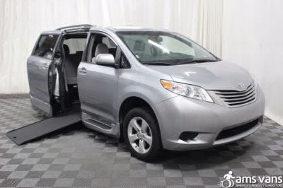 Commercial Wheelchair Vans for Sale - 2015 Toyota Sienna LE ADA Compliant Vehicle VIN: 5TDKK3DC3FS536519