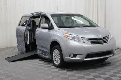 Commercial Wheelchair Vans for Sale - 2014 Toyota Sienna XLE ADA Compliant Vehicle VIN: 5TDYK3DC6ES517469