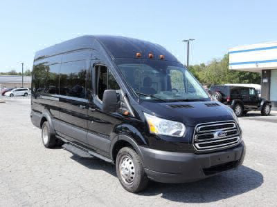 Commercial Wheelchair Vans for Sale - 2019 Ford Transit Passenger 350 XLT ADA Compliant Vehicle VIN: 1FBVU4XM9KKA66911