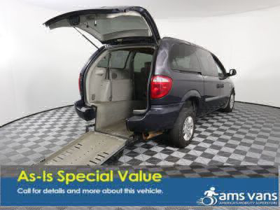 Handicap Van for Sale - 2007 Dodge Grand Caravan SE Wheelchair Accessible Van VIN: 1D4GP24RX7B202800