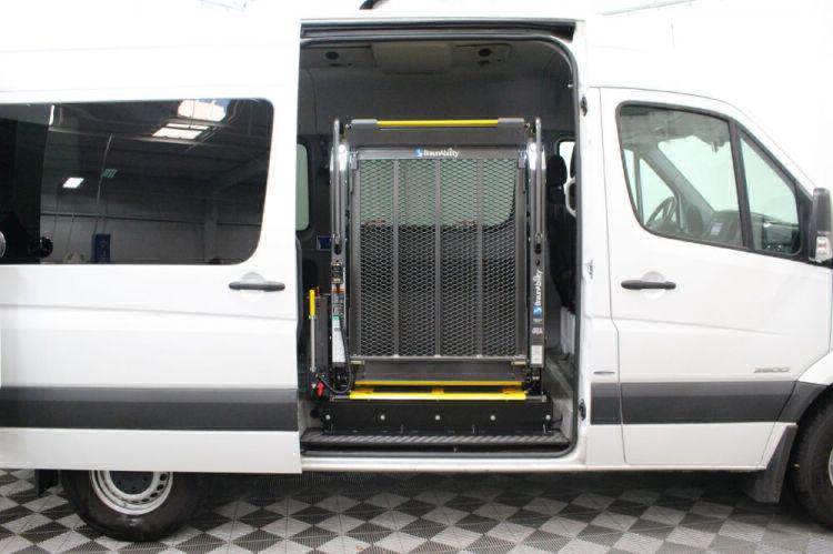 2016 Mercedes-Benz Sprinter 2500 144 WB Wheelchair Van For Sale #10