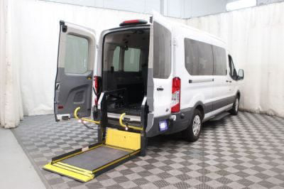 Commercial Wheelchair Vans for Sale - 2018 Ford Transit Passenger 350 XLT ADA Compliant Vehicle VIN: 1FBAX2CM0JKA56301