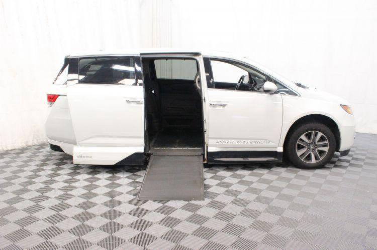 2014 Honda Odyssey Touring Elite Wheelchair Van For Sale #2