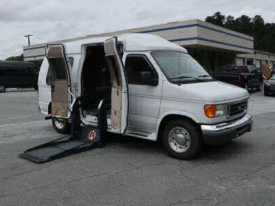 Used Wheelchair Van for Sale - 2006 Ford Econoline E250 E-250 SD Wheelchair Accessible Van VIN: 1FDNE24LX6HA09317