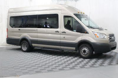 Commercial Wheelchair Vans for Sale - 2018 Ford Transit Wagon 350 XLT-HD 15 ADA Compliant Vehicle VIN: 1FBVU4XM9JKA27878
