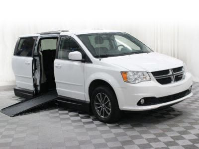Handicap Van for Sale - 2017 Dodge Grand Caravan SXT Wheelchair Accessible Van VIN: 2C4RDGCG3HR698974