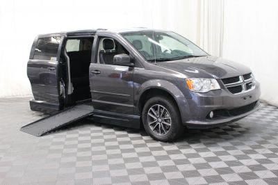 Handicap Van for Sale - 2017 Dodge Grand Caravan SXT Wheelchair Accessible Van VIN: 2C4RDGCG2HR558267
