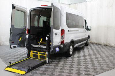 Commercial Wheelchair Vans for Sale - 2017 Ford Transit Passenger 350 XLT ADA Compliant Vehicle VIN: 1FBAX2CM5HKA97646