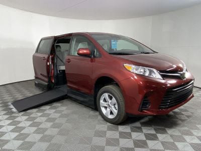 New Wheelchair Van for Sale - 2020 Toyota Sienna LE Mobility Wheelchair Accessible Van VIN: 5TDKZ3DC8LS081027