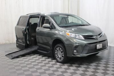 New Wheelchair Van for Sale - 2018 Toyota Sienna XLE Wheelchair Accessible Van VIN: 5TDYZ3DC7JS920172