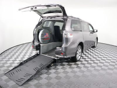 New Wheelchair Van for Sale - 2013 Toyota Sienna SE Wheelchair Accessible Van VIN: 5TDXK3DC7DS380486
