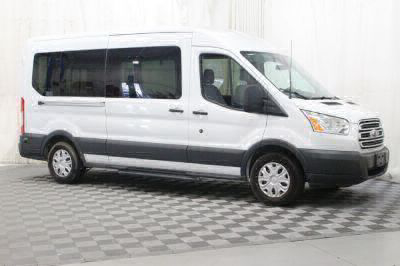 Commercial Wheelchair Vans for Sale - 2016 Ford Transit Wagon 350 XLT 12 ADA Compliant Vehicle VIN: 1FBZX2CMXGKB10425
