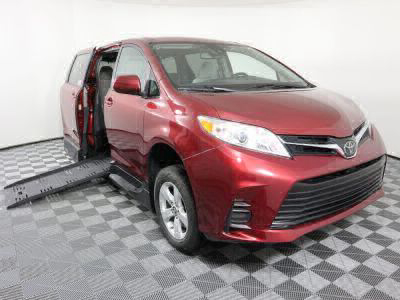 Handicap Van for Sale - 2019 Toyota Sienna LE Standard Wheelchair Accessible Van VIN: 5TDKZ3DC0KS991463