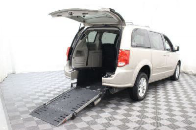 Commercial Wheelchair Vans for Sale - 2016 Dodge Grand Caravan SXT ADA Compliant Vehicle VIN: 2C4RDGCG9GR179734