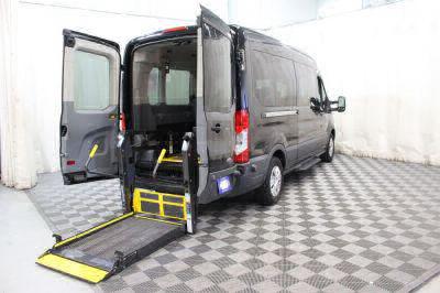 Commercial Wheelchair Vans for Sale - 2016 Ford Transit Passenger 350 XLT 15 ADA Compliant Vehicle VIN: 1FBAX2CM3GKA82576
