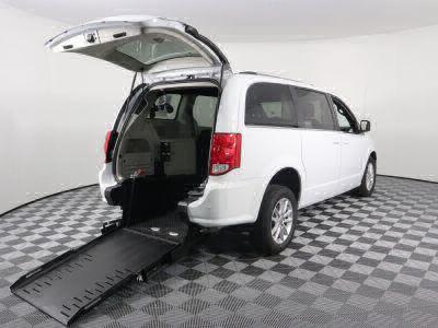 Commercial Wheelchair Vans for Sale - 2019 Dodge Grand Caravan SXT ADA Compliant Vehicle VIN: 2C4RDGCG1KR545856