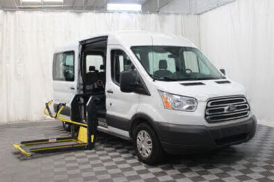 Commercial Wheelchair Vans for Sale - 2018 Ford Transit Passenger 350 XLT ADA Compliant Vehicle VIN: 1FBAX2CM6JKB02911