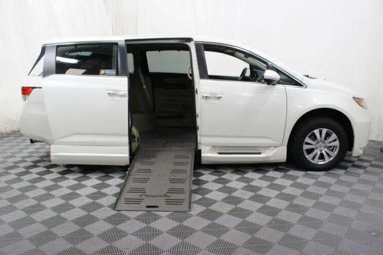 2016 Honda Odyssey EX-L Wheelchair Van For Sale #2
