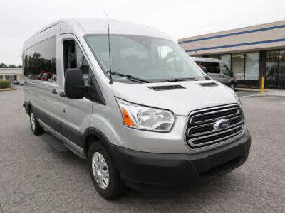 New Wheelchair Van for Sale - 2019 Ford Transit Passenger Mid-Roof 350 XLT - 15 Wheelchair Accessible Van VIN: 1FBAX2CM2KKB06441