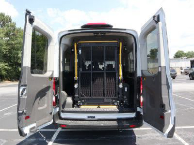 Commercial Wheelchair Vans for Sale - 2020 Ford Transit Passenger Mid-Roof 350 XLT - 15 ADA Compliant Vehicle VIN: 1FBAX2CG6LKA44120