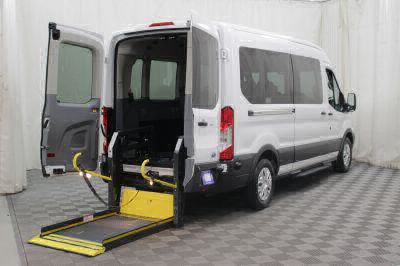 Commercial Wheelchair Vans for Sale - 2016 Ford Transit Wagon 350 XLT ADA Compliant Vehicle VIN: 1FBAX2CM9GKB00417