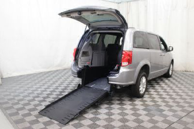 Commercial Wheelchair Vans for Sale - 2018 Dodge Grand Caravan SXT ADA Compliant Vehicle VIN: 2C4RDGCG0JR223028