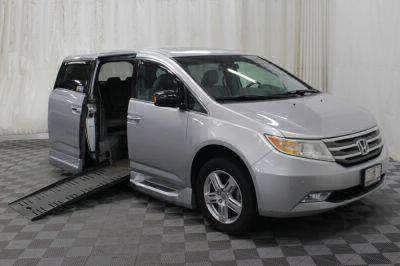 Handicap Van for Sale - 2011 Honda Odyssey Touring Elite Wheelchair Accessible Van VIN: 5FNRL5H91BB078399