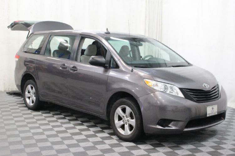 2014 Toyota Sienna L Wheelchair Van For Sale #6