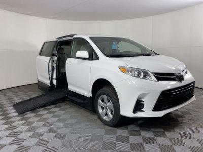 Handicap Van for Sale - 2020 Toyota Sienna LE Standard Wheelchair Accessible Van VIN: 5TDKZ3DC8LS023273