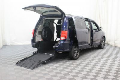 Commercial Wheelchair Vans for Sale - 2017 Dodge Grand Caravan SXT ADA Compliant Vehicle VIN: 2C4RDGCG2HR711309