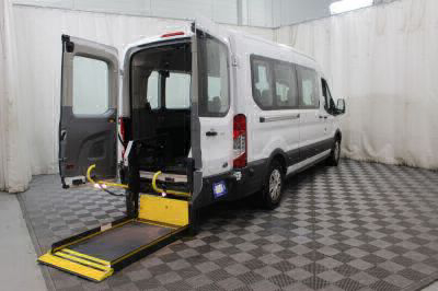 Commercial Wheelchair Vans for Sale - 2017 Ford Transit Passenger 350 XLT ADA Compliant Vehicle VIN: 1FBAX2CM4HKB13805