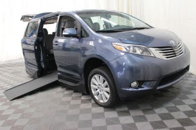 Commercial Wheelchair Vans for Sale - 2017 Toyota Sienna Limited ADA Compliant Vehicle VIN: 5TDYZ3DC1HS885039