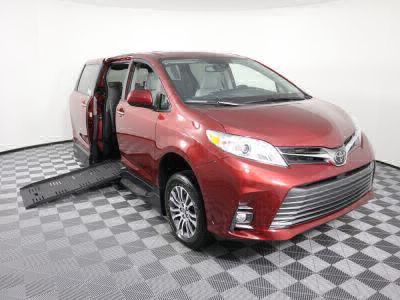 New Wheelchair Van for Sale - 2020 Toyota Sienna XLE Wheelchair Accessible Van VIN: 5TDYZ3DC8LS036292
