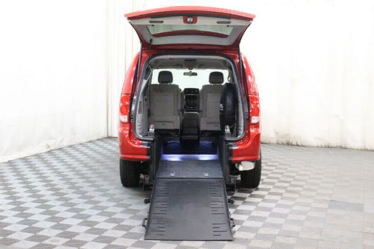 2014 Dodge Grand Caravan SXT Wheelchair Van For Sale #2