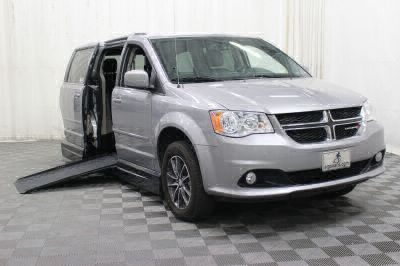 Handicap Van for Sale - 2017 Dodge Grand Caravan SXT Wheelchair Accessible Van VIN: 2C4RDGCG9HR574269