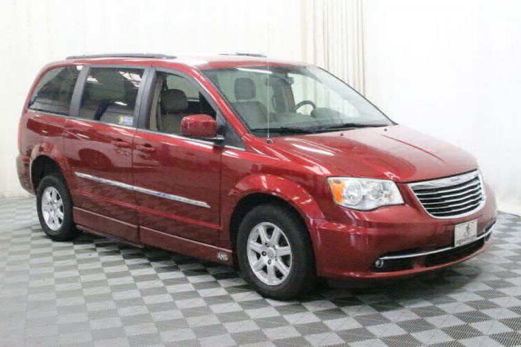 2012 Chrysler Town and Country Touring Wheelchair Van For Sale #5