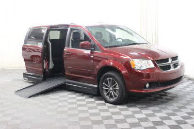 Handicap Van for Sale - 2017 Dodge Grand Caravan SXT Wheelchair Accessible Van VIN: 2C4RDGCG3HR773656